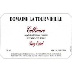 La Tour Vieille Puig Oriol Collioure Rouge 2015