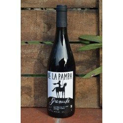 De La Pampa, Vin de France Bio Rouge, Grenache 2014