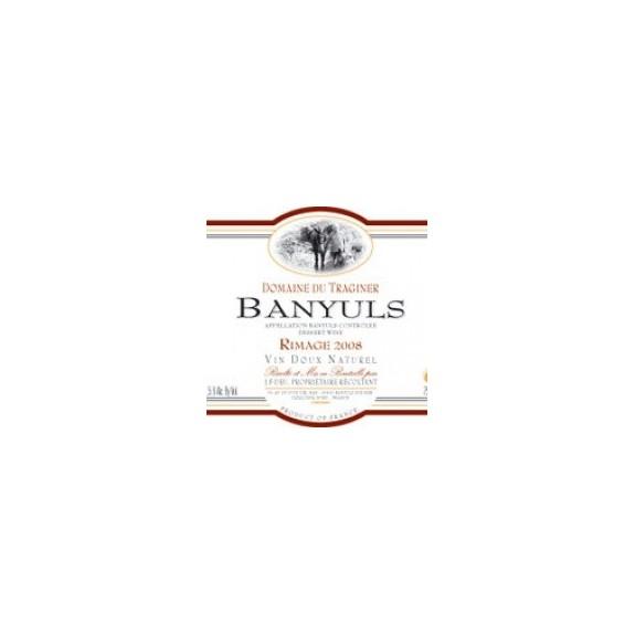 Banyuls AOC - Domaine du Traginer - Banyuls Rimage 500ml - 2008