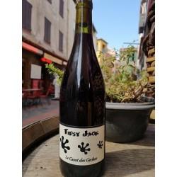 Tipsy Jack, Le Casot des Geckos, Vin de France rouge 2018 Bio