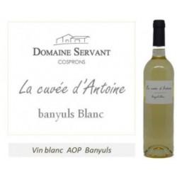 Domaine Servant La cuvee d'Antoine Banyuls Blanc