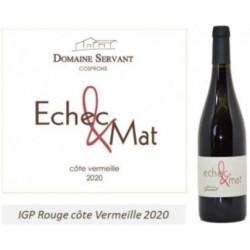 Domaine Servant Echec et Mat Rouge IGP Côte Vermeille